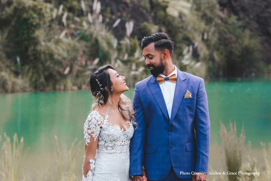 Marianely and Shivam, Auckland