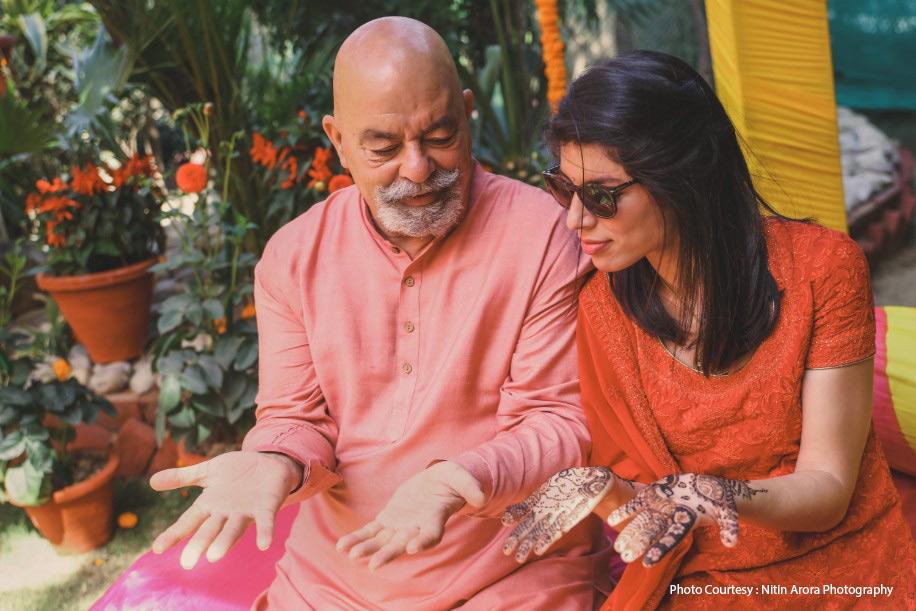 Natasha and Derek, New Delhi