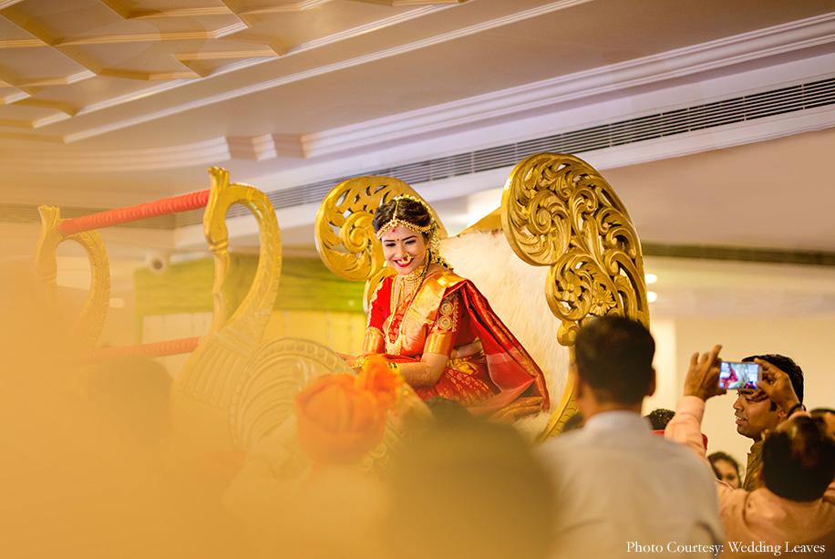 Neerja and Kushal, ISKCON Juhu, Mumbai