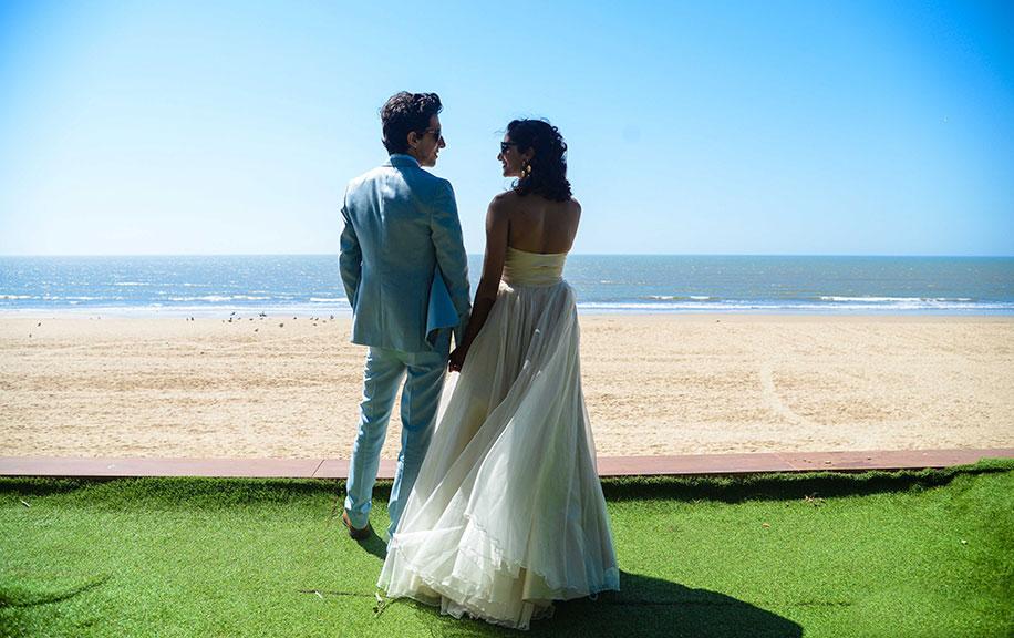 Priya Darshini and Max ZT, Novotel Hotel, Mumbai