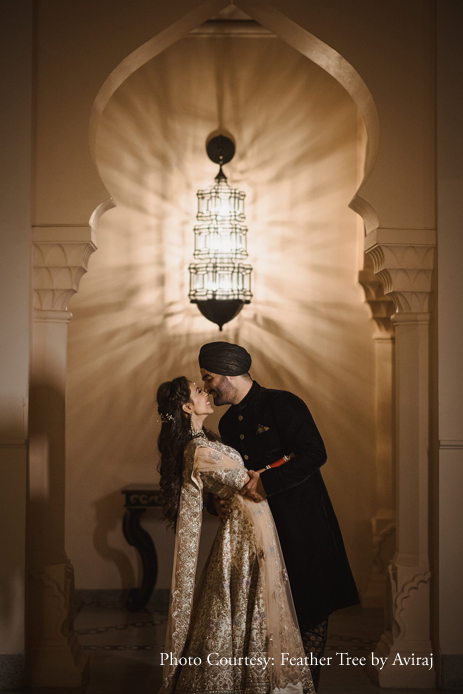 Savleen and Harman, Fairmont Jaipur, Rajasthan