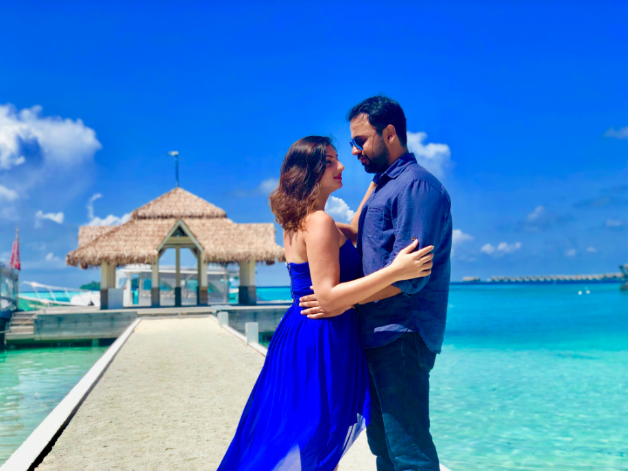 Kusha and Sahil, Maldives