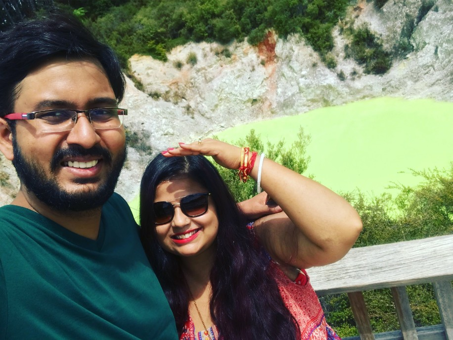 Naman and Poulomi's Honeymoon in Thailand, Malaysia and New Zealand