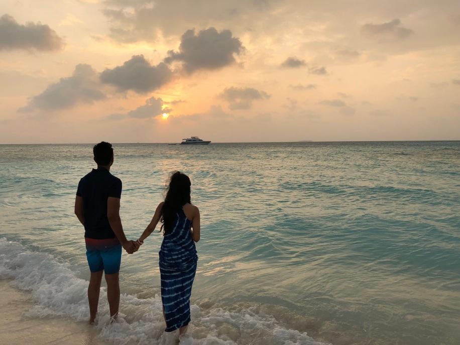 Sakshi and Sasmit, Maldives