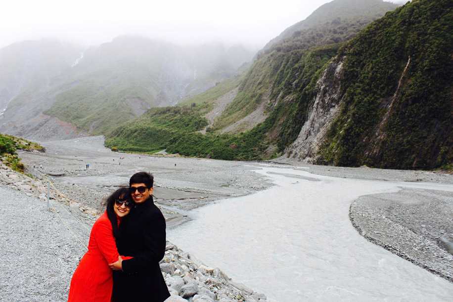 Neeharika and Simranjeet, New Zealand