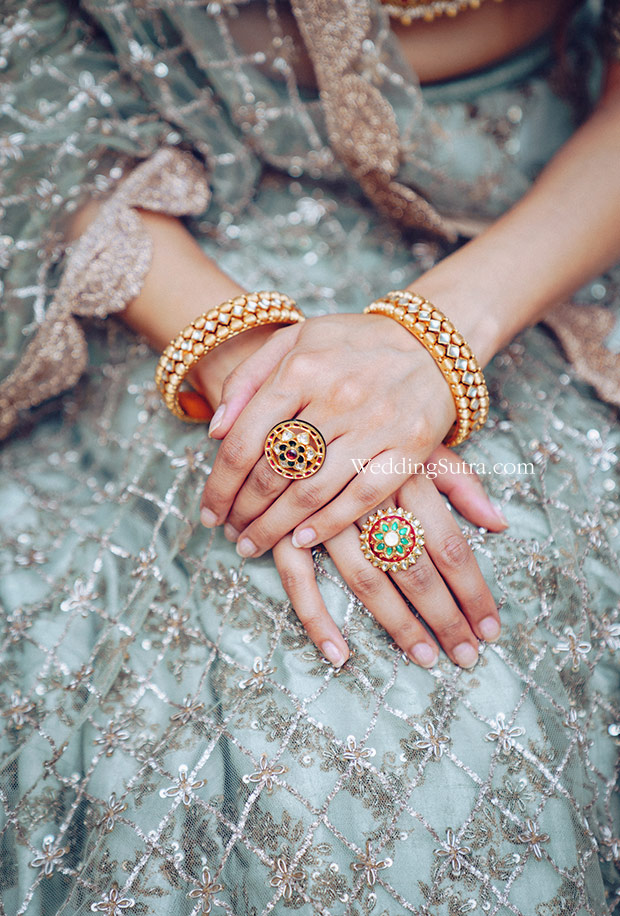 Solah Shringar with Rivaah by Tanishq - Bangles, Mangtika, and Haar