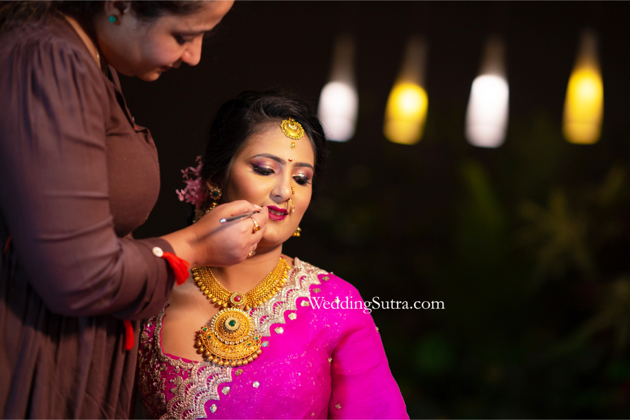 Wedding makeovers by Safa Malim and Kinjal Joshi