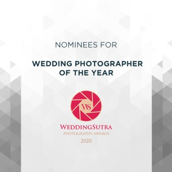 Nominations for Wedding Photographer of The Year – WeddingSutra Photography Awards 2020