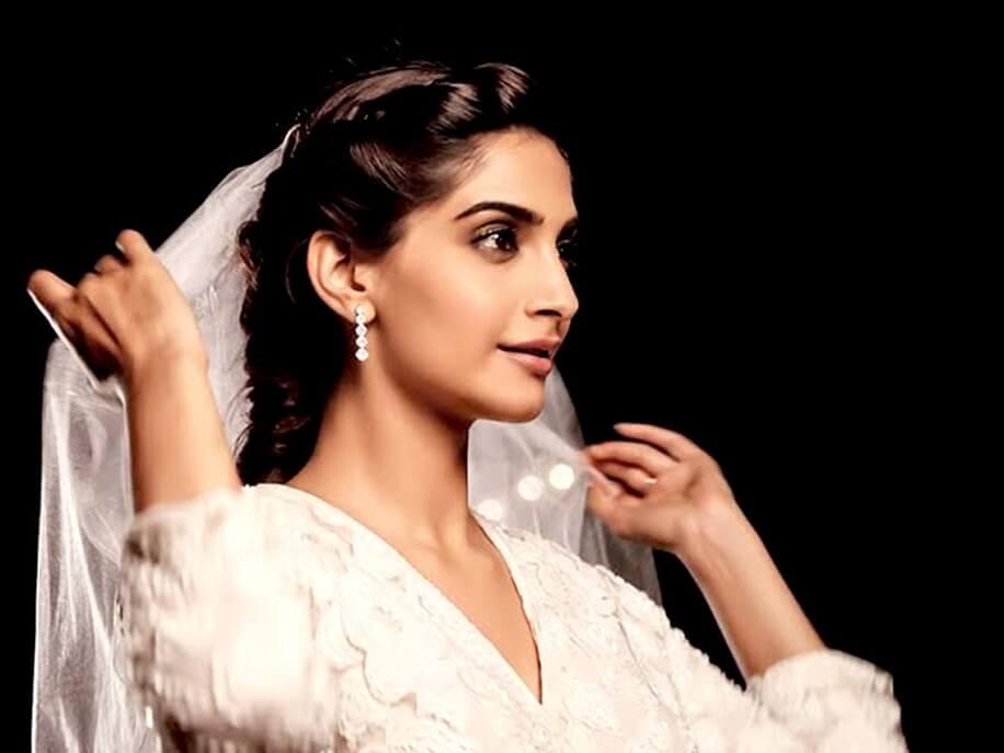 Sonam Kapoor in White Gown in the Movie 'Dolly Ki Doli'