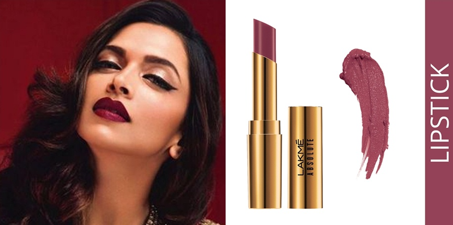 Lakme Absolute Argan Oil Lip Color - 'Soaked Berries' shade