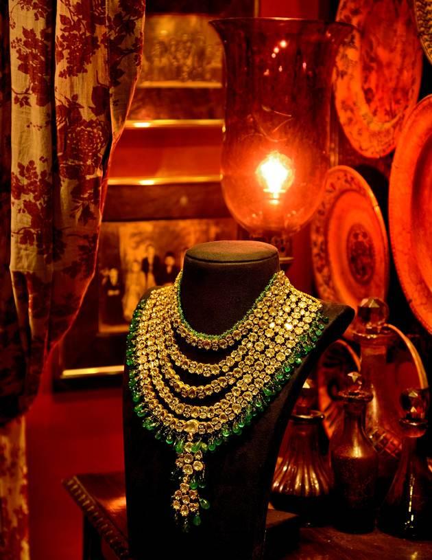 Sabyasachi new flagship store Mumbai - jewellery designed by Kishandas & Co Hyderabad, curated by Sabyasachi