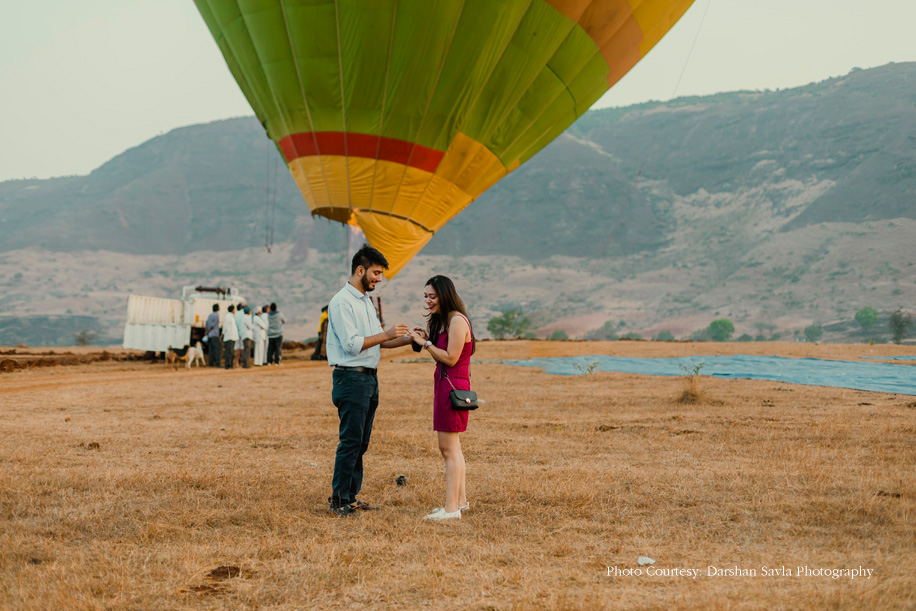 Aashay's High-Flying Proposal to Ashna