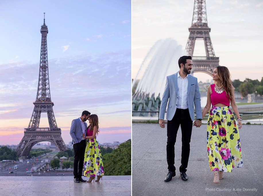 Anika and Gurjit's Pre-Wedding Shoot in the City of Love – Paris