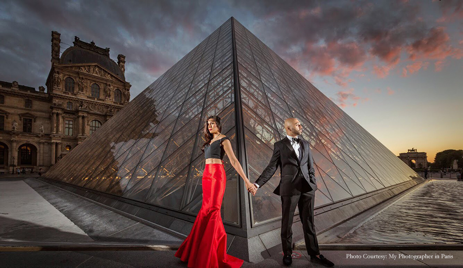 Anusha and Preet's Pre-Wedding Photo Shoot in Paris