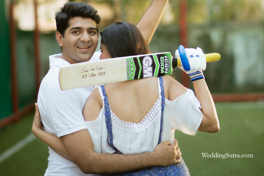 Vaishali and Jay's Platinum Day of Love at Turf Grounds