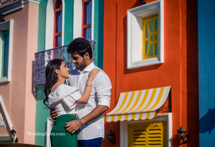 Karuna and Dhrumil's Platinum Day Of Love