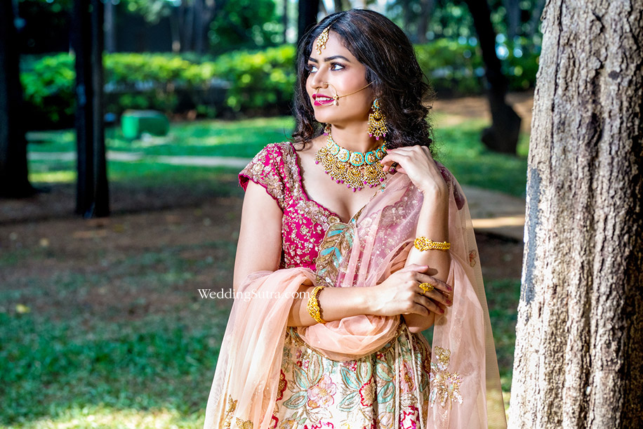 Lakmé Absolute Bridal Beauty Trends – Bold Red Lip