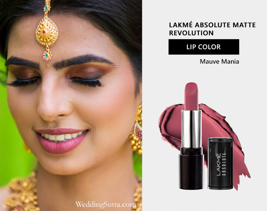 Lakmé Absolute Bridal Beauty Trends: Bold Lips