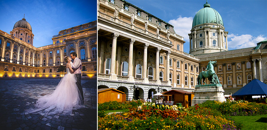 Royal Destination Wedding Venue - Buda Castle, Budapest
