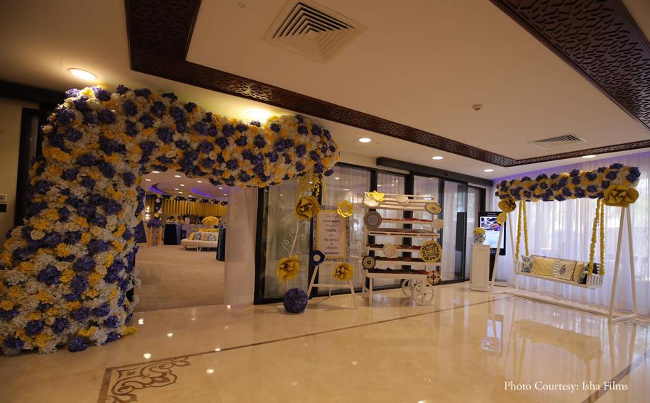 Meher and Mukund, Hotel Sofitel Bahrain Zallaq Thalassa Sea & Spa