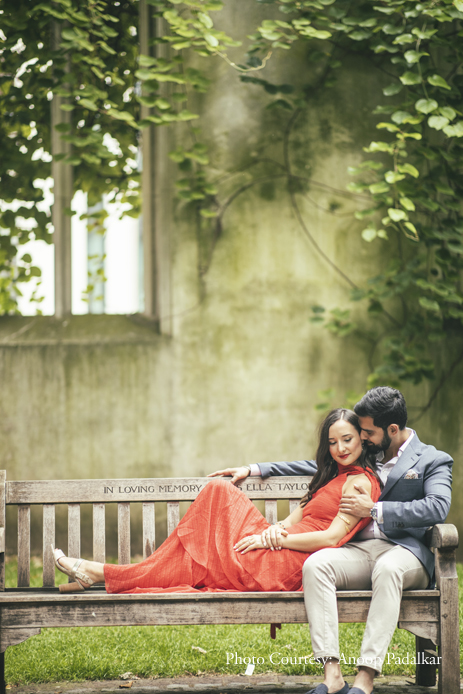 This pre-wedding photoshoot impresses by capturing love against London's retro backdrops