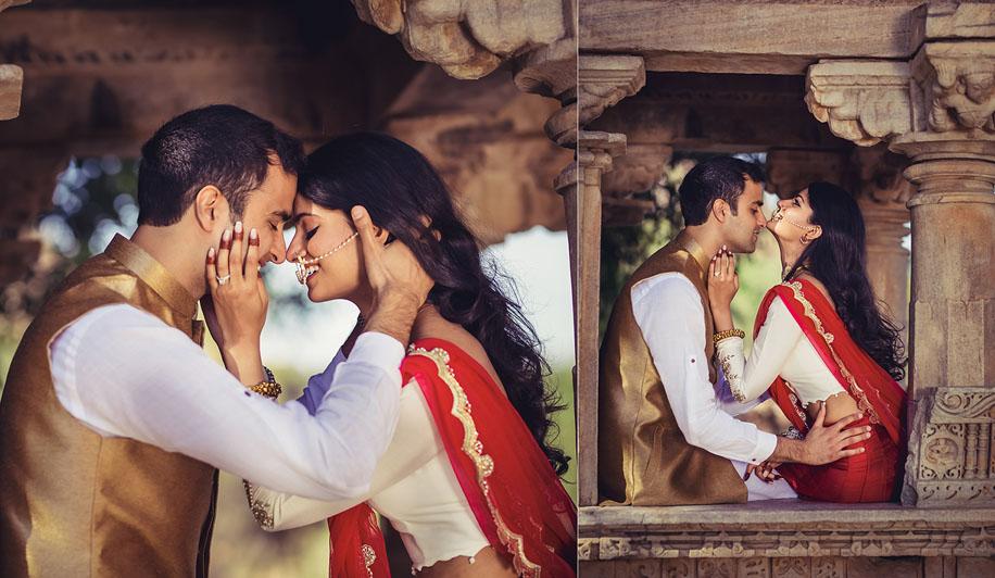 Nitya and Puneet's pre-wedding photoshoot