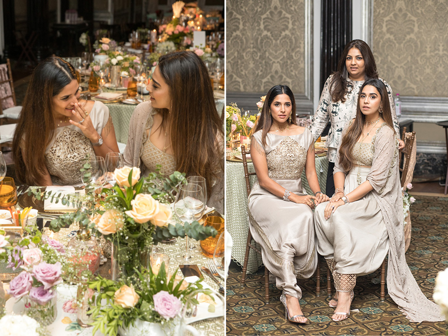 Concept Tables at WeddingSutra Influencer Awards 2018 by Payal Singhal