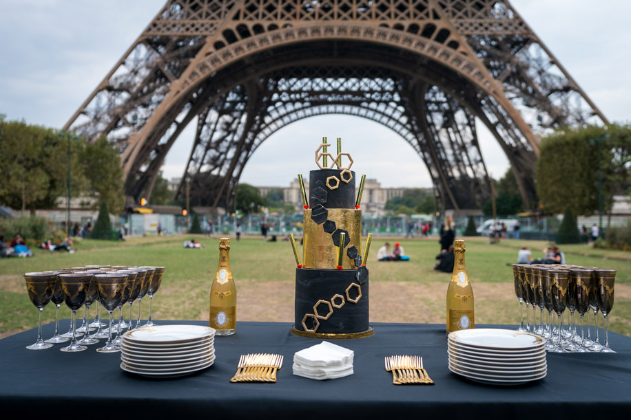 An Extravagant Celebration in Paris by Wedniksha