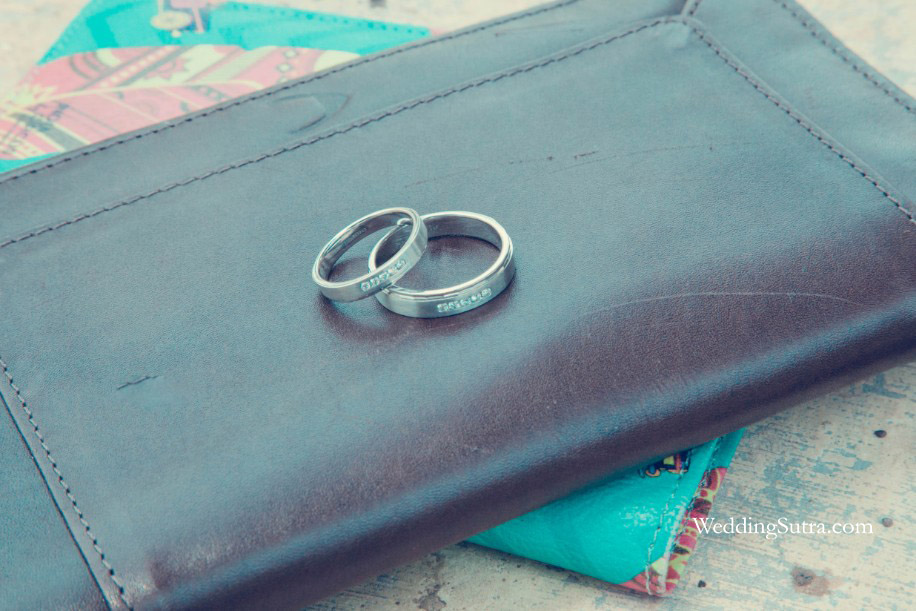 Poonam and Sanjay's Platinum Love Bands