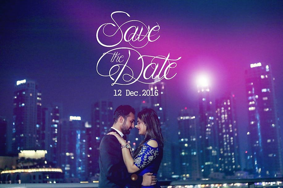 Prinal and Dhruv's Pre-wedding shoot in Dubai