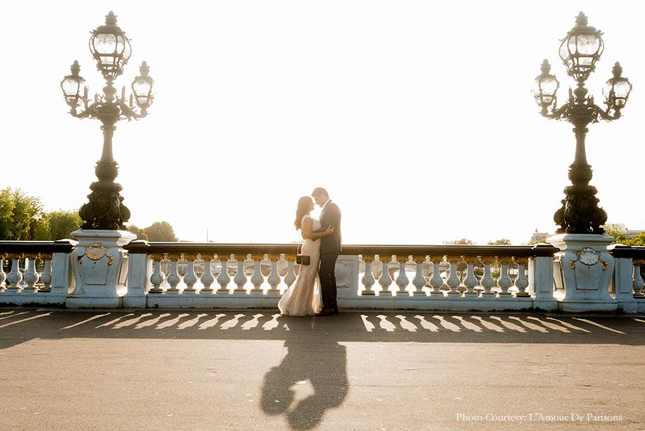 Puja and Saad's Pre-Wedding Shoot in Paris