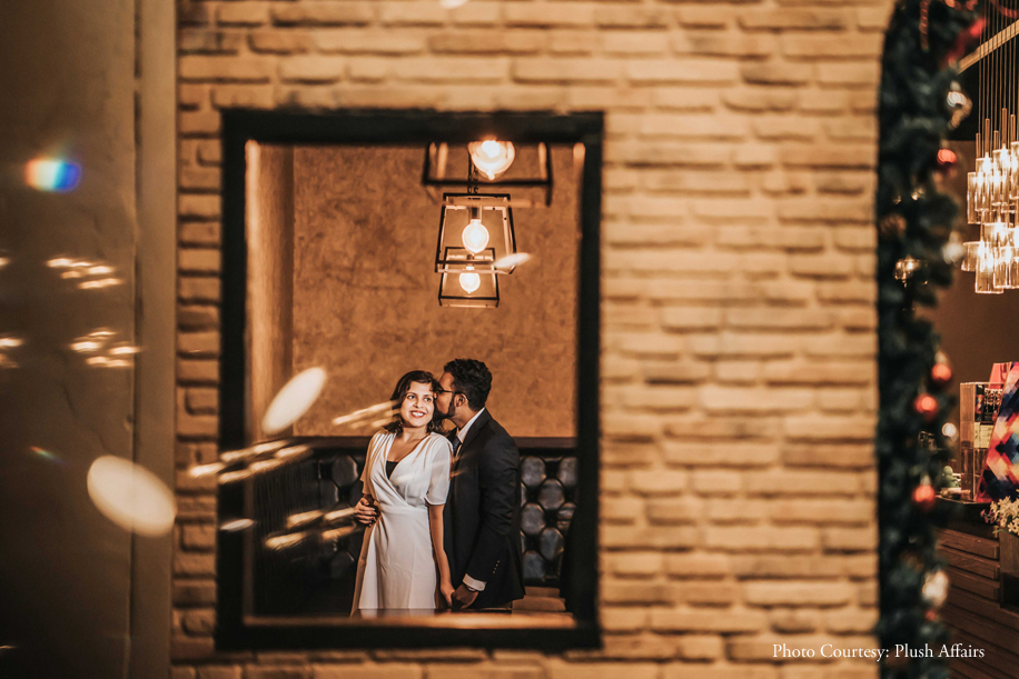 From cozy cafes to a busy airport, Malaysia offered unique backdrops for this pre-wedding photoshoot