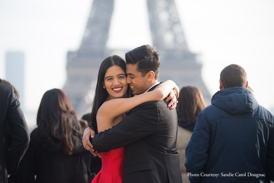 This Guy Rerouted His Girlfriend's Trip To Paris To Surprise Her With A Proposal Near The Eiffel Tower
