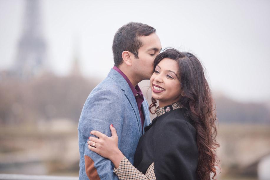 Shiv's proposal to Shyama in Paris