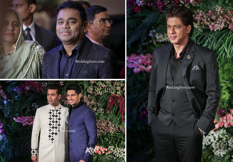 Inside Anushka Virat's Starry Reception at The St Regis Mumbai
