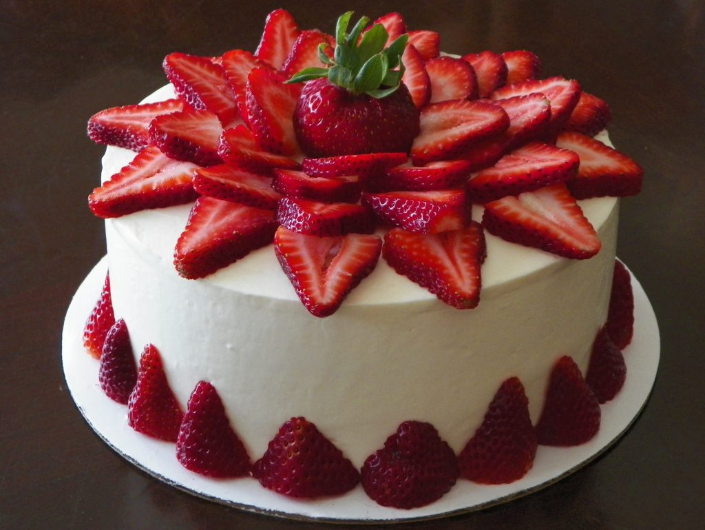 Strawberry Cake Recipe Dishmaps