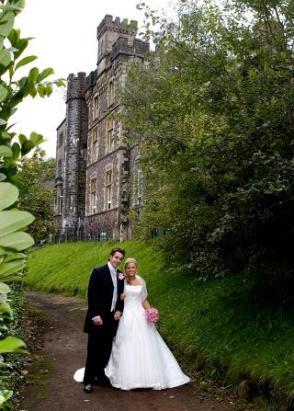 Craig Y Nos Castle Dog Friendly Wedding Venue In South Wales Couple 39 S Dougal