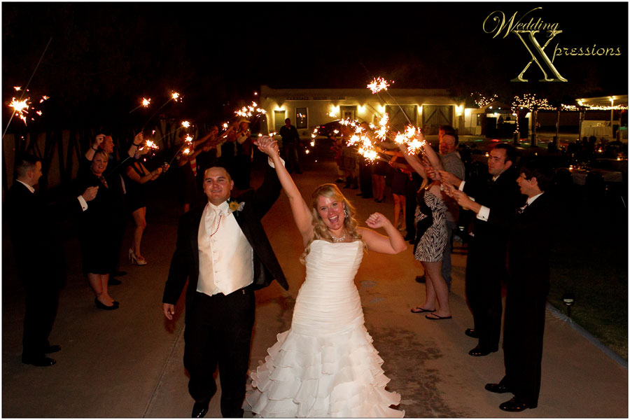 traditional wedding sendoff