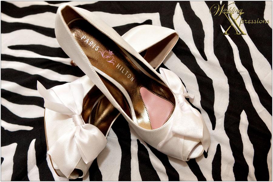 paris hilton bridal wedding shoes