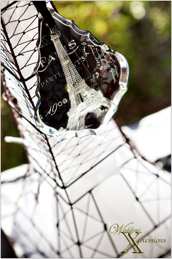 Eifeel Tower wedding decoration