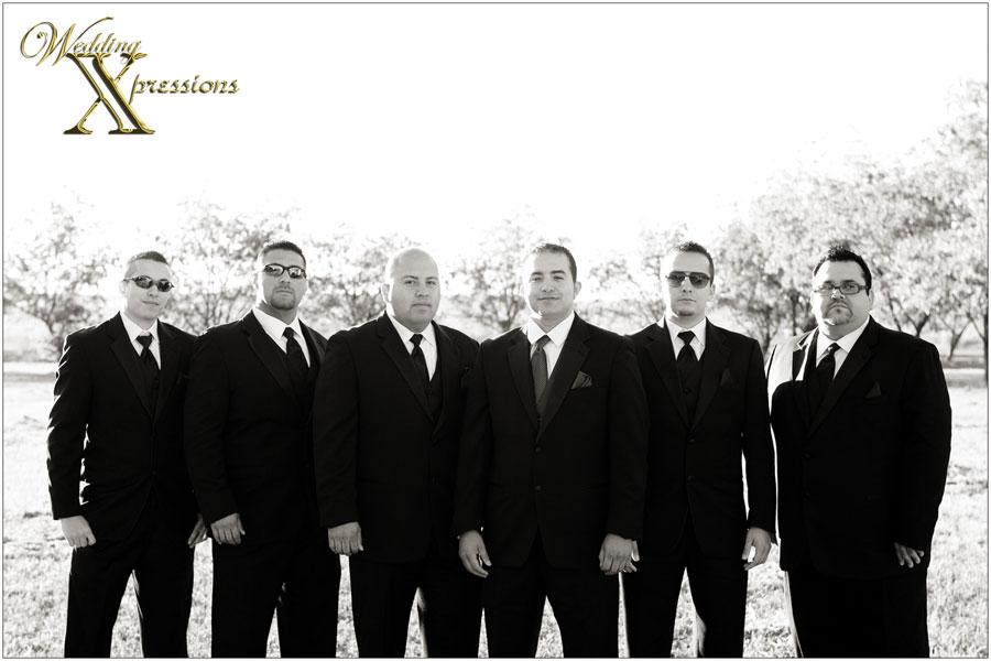 wedding groom's men