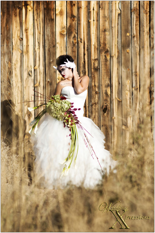 Black Swan Florist couture fashion shoot