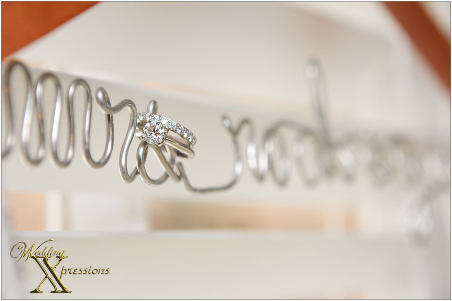 Mrs. Rodrigue bridal hanger