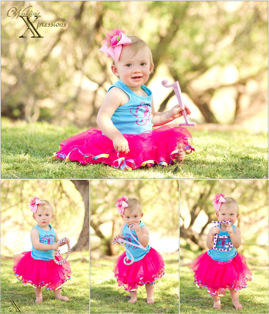 one year baby photography
