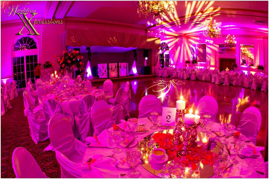 wedding lighting by DJ Ferris