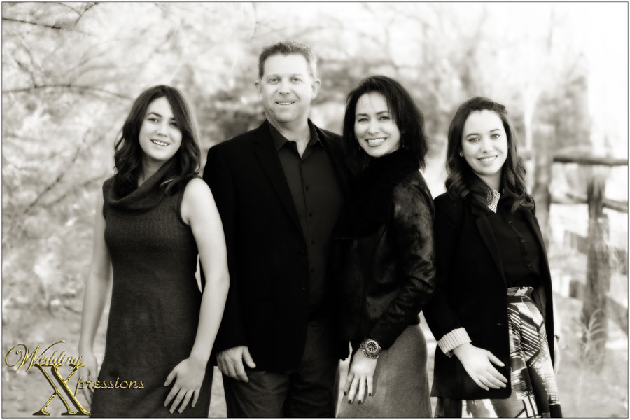 black and white family photography in el paso