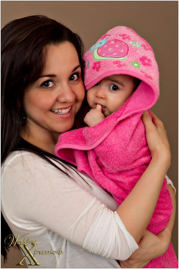 Amaris with mom