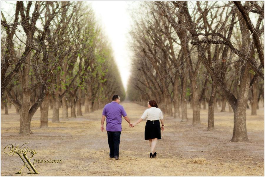 walking away together
