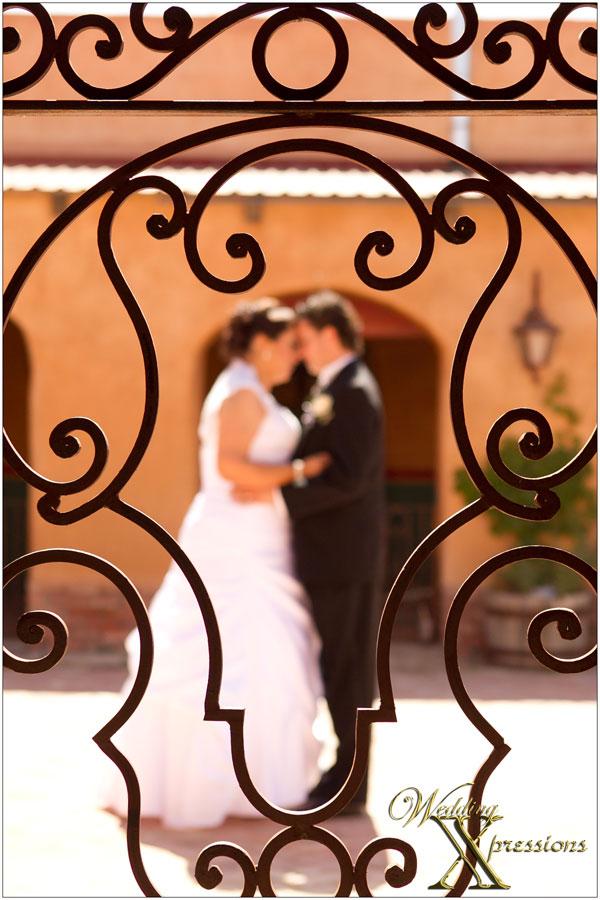 iron rod wedding couple