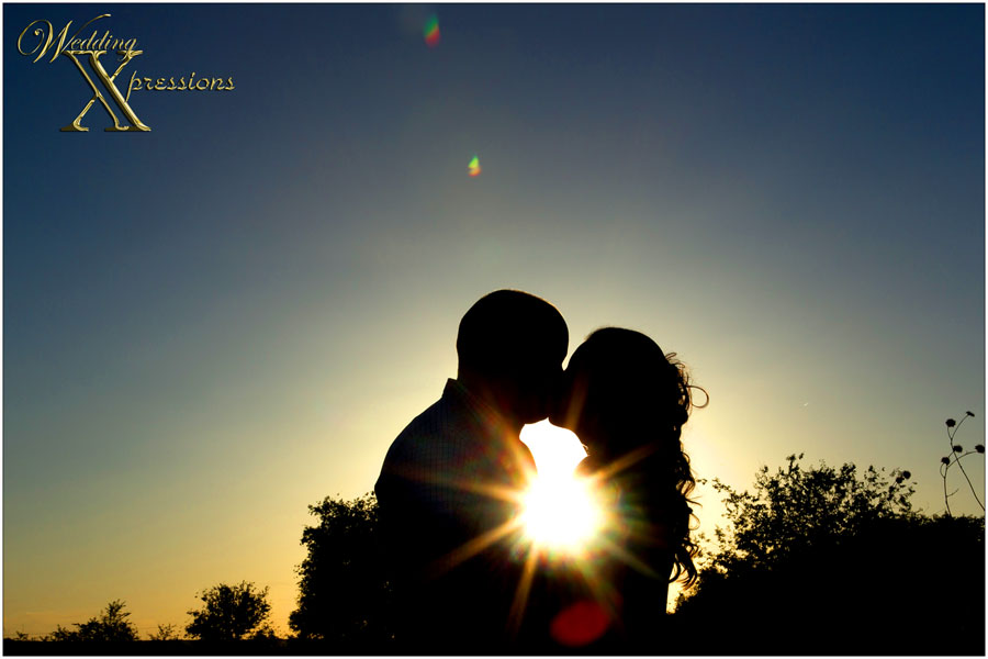 Sunset silhouette photography